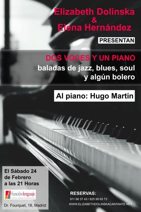 Concierto de canto en madrid 2018