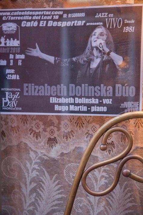 concierto Elizabeth Dolinska en Madrid